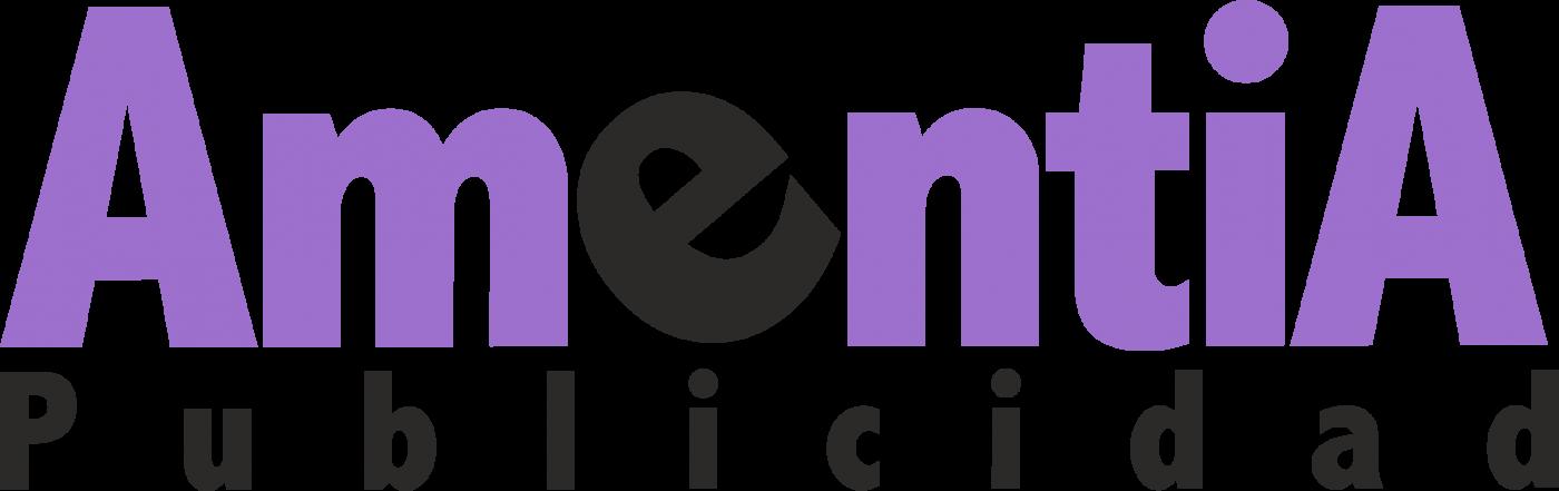 Logotipo de Amentia publicidad