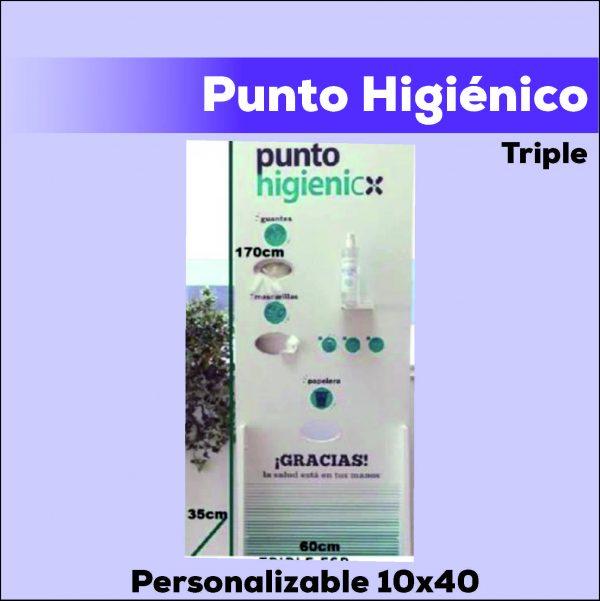 Punto Higienicotriple